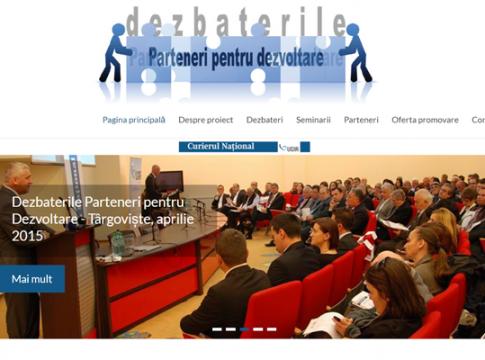 dezbaterile parteneri pentru dezvoltare