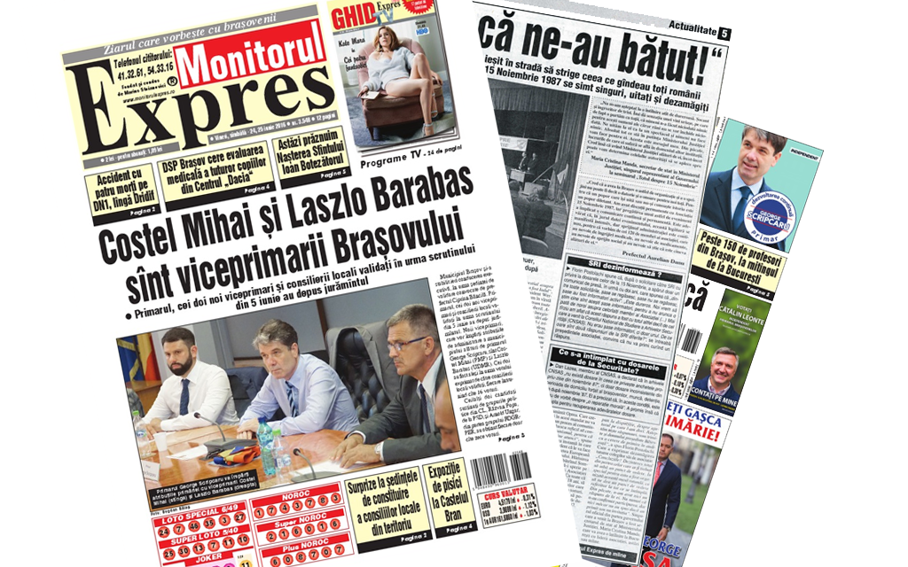AnunČ›uri ziare locale